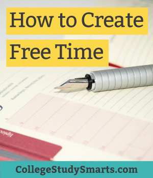 How to create free time