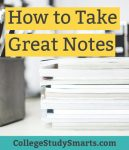 how to take great notes