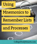 Using Mnemonics to Remember Lists and Processes