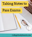 not taking series -how to really study for exams in less time