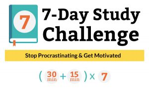 7-Day Study Challenge | Jump start your college success. | collegestudysmarts.com