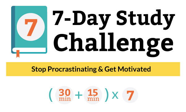7-Day College Study Challenge | Jump start your college success. | collegestudysmarts.com
