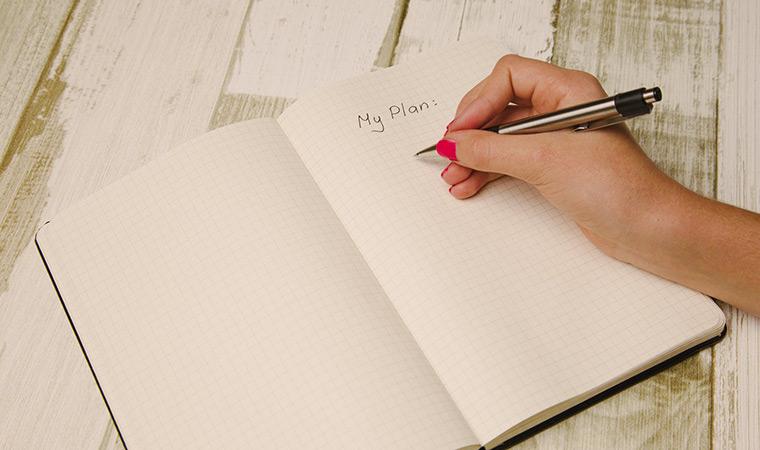 better notes, make a plan