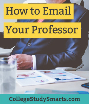 How to Email Your Professor