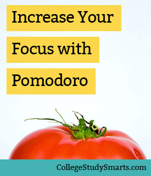 Increase your Focus with the Power of the Pomodoro