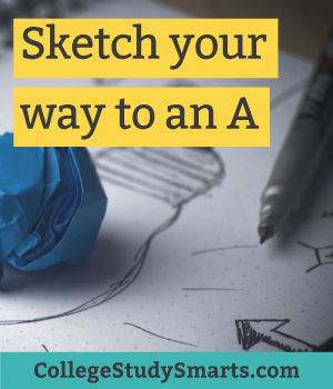 Sketch your way to an A
