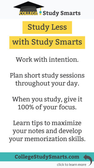 Study Less with Study Smarts