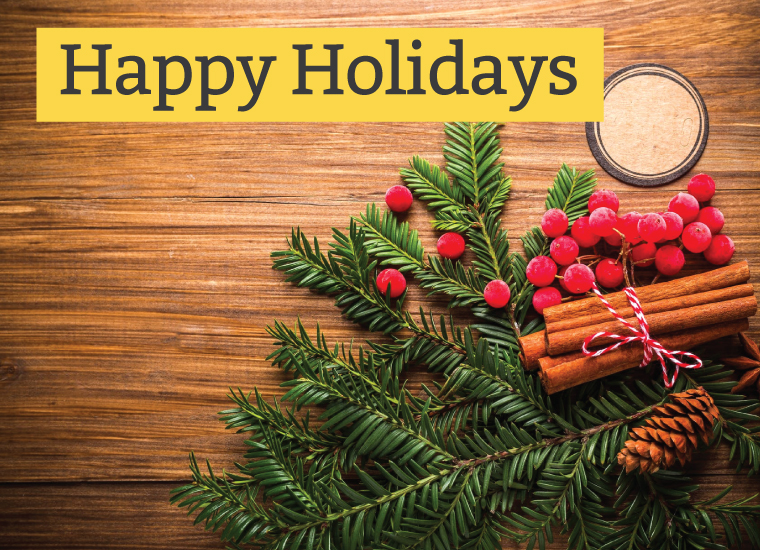 Happy Holidays from College Study Smarts