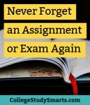Never Forget an Assignment or Exam Again