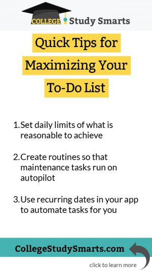 Quick Tips for Maximizing Your To-Do List