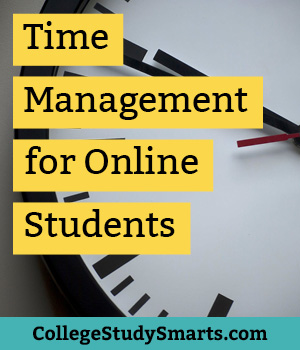 time management for online students