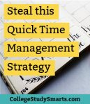 Steal this Quick Time Management Strategy