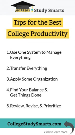 Tips for the Top Productivity Tool and Best College Productivity