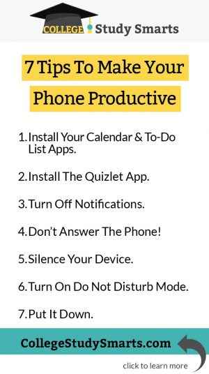 7 Tips To Make Your Phone Productive