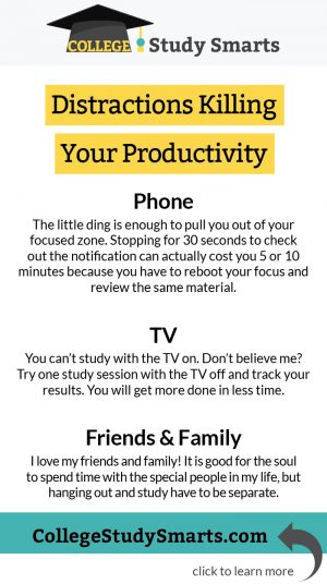 Distractions Killing Your Productivity
