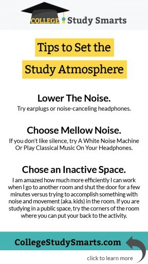 Tips to Set the Study Atmosphere