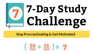 SIGN UP Free 7-Day Study Challenge | Stop Procrastinating & Get Motivated