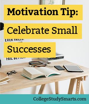 Motivation Tip: Celebrate Small Successes