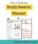 Download Free Study Session Planner to get big results from small study sessions