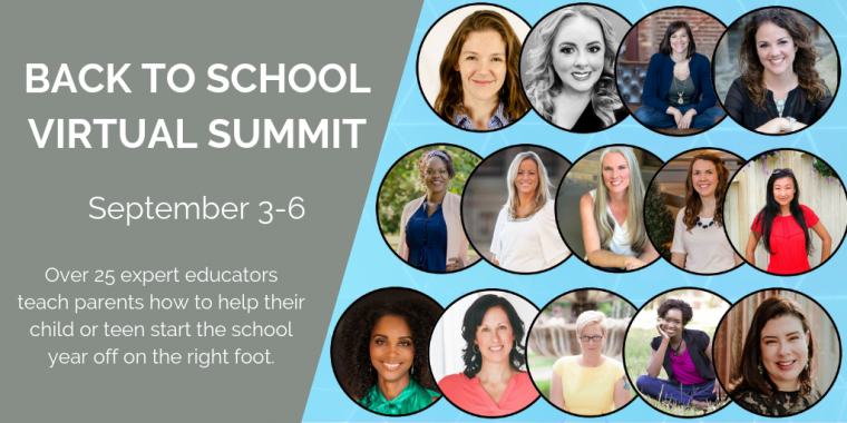 2019 Back to School Virtual Summit | September 3-6, 2019